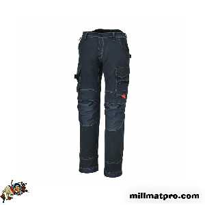 Pantalon de travail multipoche slim fit