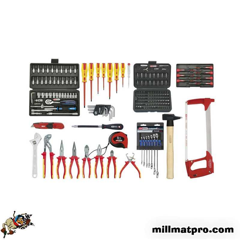 Outillage electricien pro latest sacoche sac a dos - Caisse a outils electricien complete ...