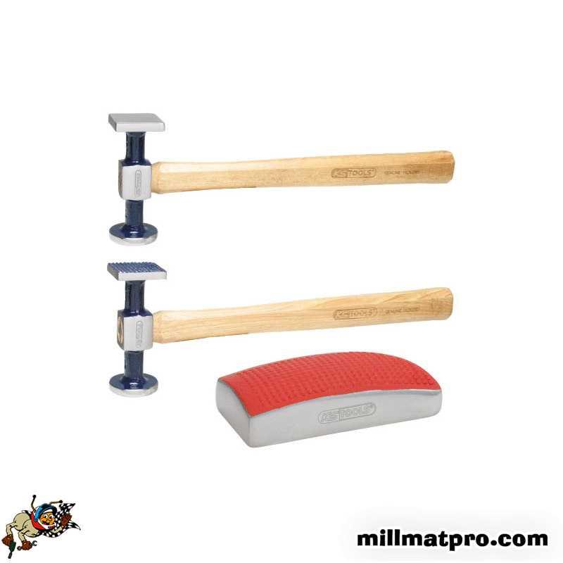 pack outil de carrossier 2 marteaux 1 tas ks tools. Black Bedroom Furniture Sets. Home Design Ideas