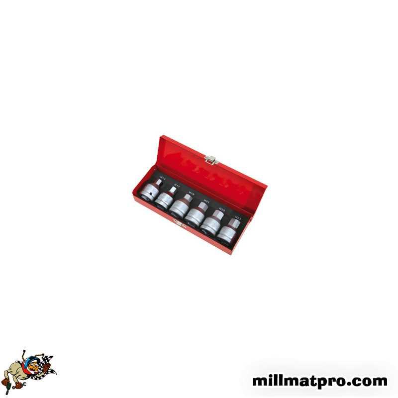 coffret douilles embouts 6 pans 3 4 poids lourd ks tools. Black Bedroom Furniture Sets. Home Design Ideas
