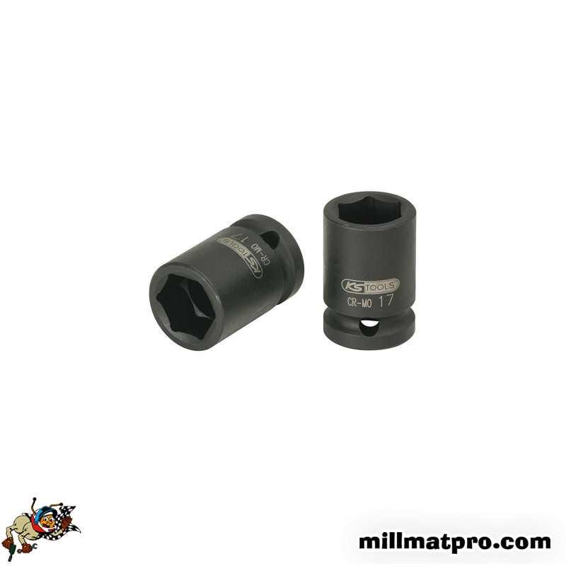 18 mm KS TOOLS 515.1018 Douille /à chocs 6 pans 1//2