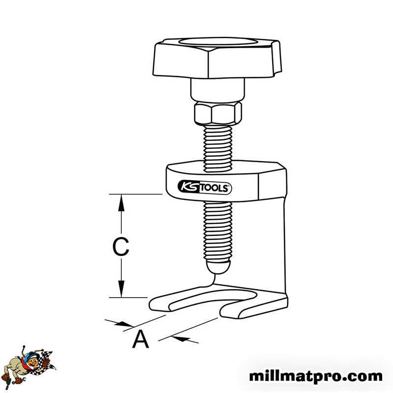 Bricolage Extracteurs A Griffes Ks Tools 700 1193 Extracteur Dessuie Glace Type 1