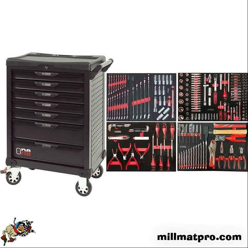 servante atelier compl te ks tools 7 tiroirs 349 outils. Black Bedroom Furniture Sets. Home Design Ideas