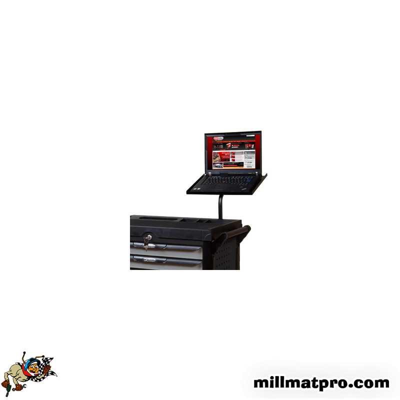 support tablette pc portable pour servante d 39 atelier pearl ks tools. Black Bedroom Furniture Sets. Home Design Ideas