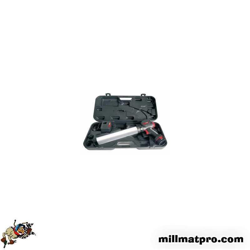 coffret pistolet colle pare brise 600ml ks tools. Black Bedroom Furniture Sets. Home Design Ideas