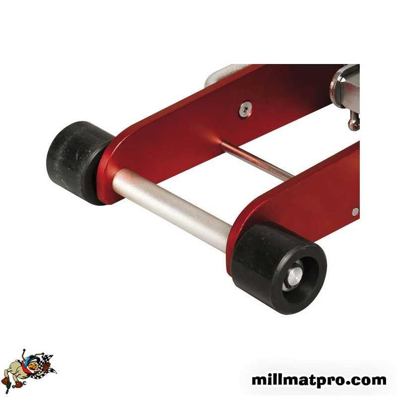 kit roue avant fixe pour cric alu 2t ks tools ks tools ks 1600365 901. Black Bedroom Furniture Sets. Home Design Ideas