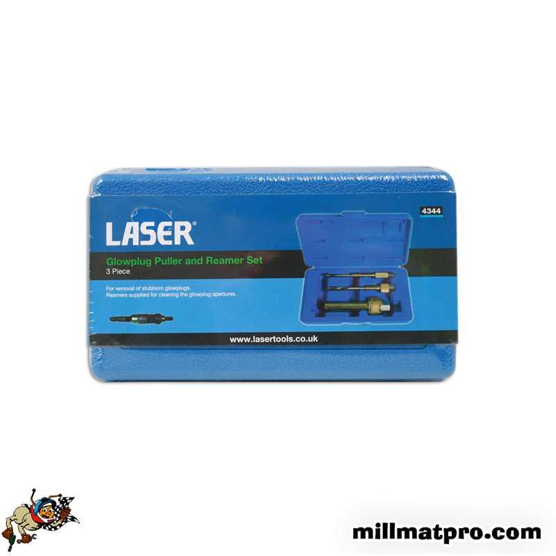 kit d 39 extraction bougie de pr chauffage m10 laser las 4344. Black Bedroom Furniture Sets. Home Design Ideas