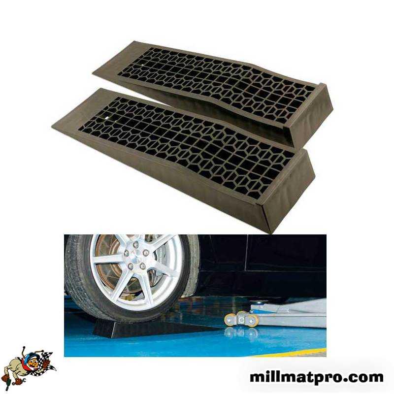 rampe voiture basse en poly r sitance 5 tonnes laser las 5669. Black Bedroom Furniture Sets. Home Design Ideas