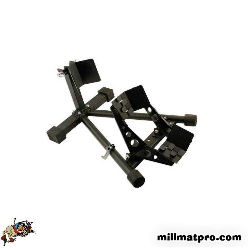 b quille de stand roue avant moto laser las 5671. Black Bedroom Furniture Sets. Home Design Ideas