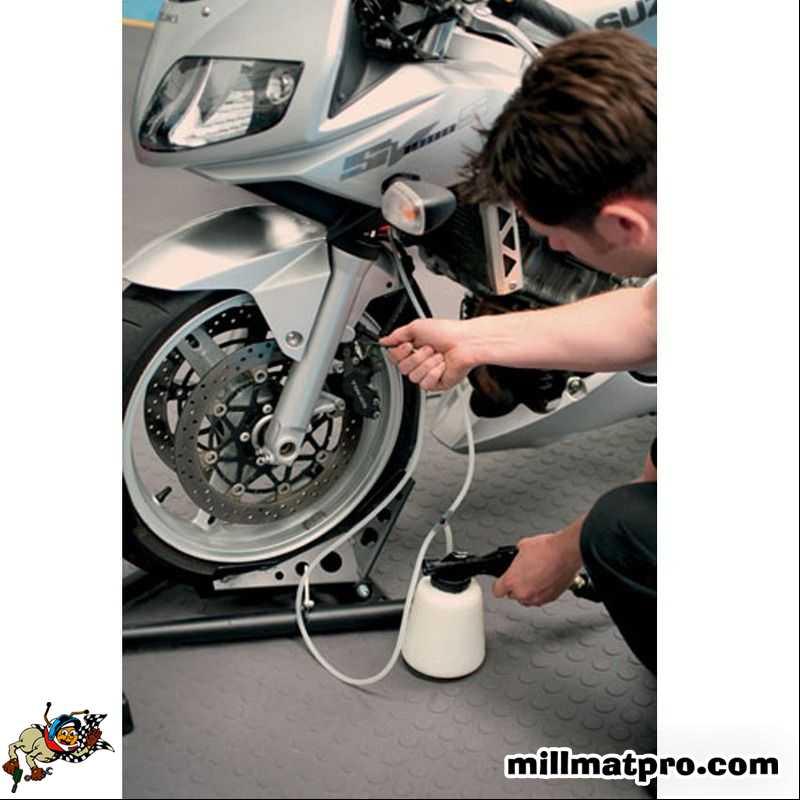 purgeur de frein moto et auto trier double piston laser las 5780. Black Bedroom Furniture Sets. Home Design Ideas