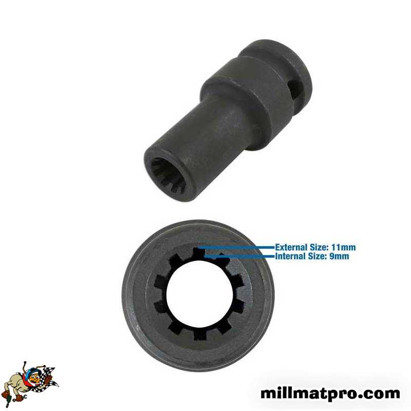 Laser 6721/Douille pour /étrier de Frein 11,5/mm