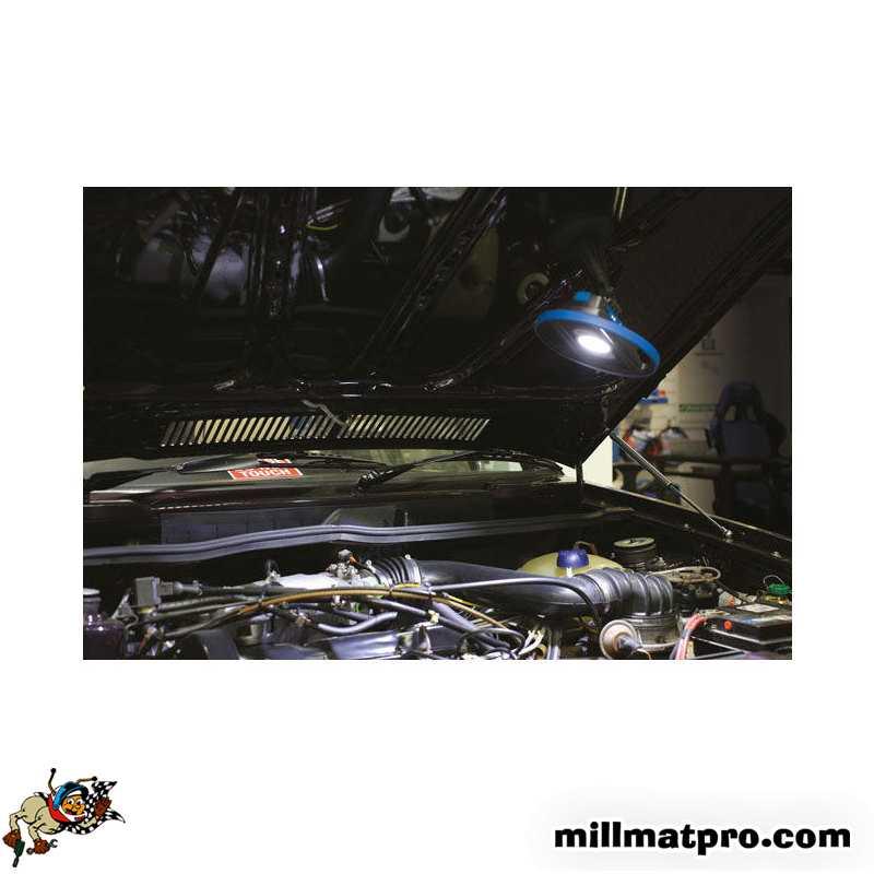lampe d 39 atelier professionnelle 15w technologie cob laser las 6760. Black Bedroom Furniture Sets. Home Design Ideas