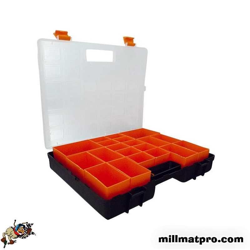 boite de rangement visserie conso 11 godets millmatpro sod. Black Bedroom Furniture Sets. Home Design Ideas