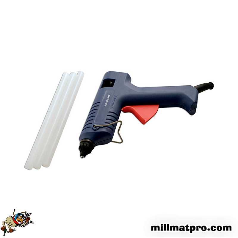 Pistolet colle pour r paration carrosserie power tec pow 91237 - Pistolet a clou ...